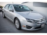 2010 Brilliant Silver Metallic Ford Fusion Hybrid #100229603