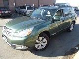 2012 Cypress Green Pearl Subaru Outback 2.5i Premium #100229747