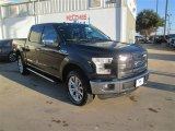 2015 Tuxedo Black Metallic Ford F150 Lariat SuperCrew 4x4 #100229621