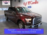2015 Bronze Fire Metallic Ford F150 XLT SuperCrew #100229615
