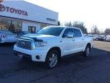 2010 Super White Toyota Tundra Limited CrewMax 4x4 #100229913