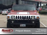 2003 Sunset Orange Metallic Hummer H2 SUV #100252335