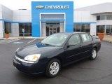 2005 Dark Blue Metallic Chevrolet Malibu LS V6 Sedan #100252325