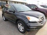 2010 Crystal Black Pearl Honda CR-V EX AWD #100260646