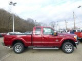 2015 Ruby Red Ford F250 Super Duty Lariat Super Cab 4x4 #100260465