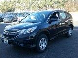 2015 Crystal Black Pearl Honda CR-V LX AWD #100284532