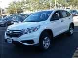 2015 White Diamond Pearl Honda CR-V LX AWD #100284531