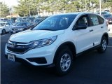 2015 White Diamond Pearl Honda CR-V LX AWD #100284530