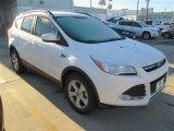 2015 White Platinum Metallic Tri-Coat Ford Escape SE #100283908