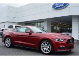2015 Ruby Red Metallic Ford Mustang EcoBoost Premium Coupe #100284082