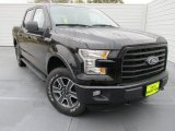2015 Tuxedo Black Metallic Ford F150 XLT SuperCrew 4x4 #100284173