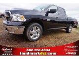 2015 Black Ram 1500 Big Horn Crew Cab 4x4 #100284071