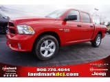 2015 Flame Red Ram 1500 Express Crew Cab #100284070