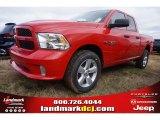 2015 Flame Red Ram 1500 Express Quad Cab 4x4 #100284064