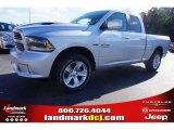2015 Bright Silver Metallic Ram 1500 Sport Quad Cab #100284062