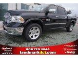 2015 Black Ram 1500 Laramie Long Horn Crew Cab 4x4 #100284057