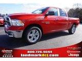2015 Flame Red Ram 1500 Big Horn Quad Cab #100284055