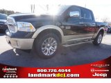 2015 Black Ram 1500 Laramie Long Horn Crew Cab #100284049