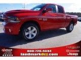 2015 Flame Red Ram 1500 Sport Quad Cab #100284048