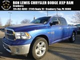 2015 Blue Streak Pearl Ram 1500 Big Horn Crew Cab 4x4 #100283966