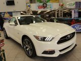 2015 50th Anniversary Wimbledon White Ford Mustang 50th Anniversary GT Coupe #100283953