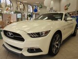 2015 Ford Mustang 50th Anniversary GT Coupe Front 3/4 View