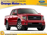 2014 Race Red Ford F150 STX SuperCab 4x4 #100284121