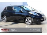2013 Super Black Nissan LEAF SL #100284204