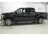 2015 Tuxedo Black Metallic Ford F150 Lariat SuperCrew 4x4 #100283774