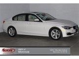 2014 Mineral White Metallic BMW 3 Series 328i Sedan #100284197