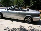 2004 Titanium Silver Metallic BMW 3 Series 330i Convertible #100327693