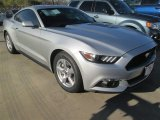 2015 Ingot Silver Metallic Ford Mustang EcoBoost Coupe #100327345