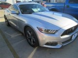 2015 Ingot Silver Metallic Ford Mustang EcoBoost Coupe #100327343