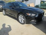 2015 Black Ford Mustang V6 Coupe #100327341