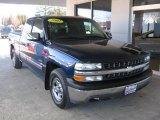 2002 Indigo Blue Metallic Chevrolet Silverado 1500 LS Extended Cab #100327663