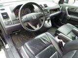 2009 Honda CR-V EX-L Black Interior