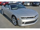 2015 Silver Ice Metallic Chevrolet Camaro LT/RS Convertible #100327576