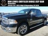 2015 Black Ram 1500 Laramie Crew Cab 4x4 #100327447