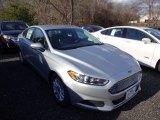 2015 Ingot Silver Metallic Ford Fusion S #100382227