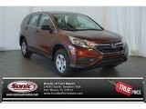 2015 Copper Sunset Pearl Honda CR-V LX #100381172