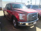 2015 Ruby Red Metallic Ford F150 XLT SuperCrew #100381343