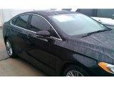 2015 Tuxedo Black Metallic Ford Fusion SE #100381342