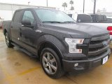 2015 Tuxedo Black Metallic Ford F150 Lariat SuperCrew #100381340
