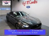 2015 Magnetic Metallic Ford Mustang EcoBoost Coupe #100381333