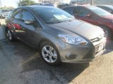 2014 Sterling Gray Ford Focus SE Sedan #100381323