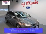 2014 Sterling Gray Ford Focus SE Hatchback #100381318