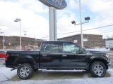 2015 Tuxedo Black Metallic Ford F150 XLT SuperCrew 4x4 #100381481