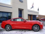 2015 Race Red Ford Mustang EcoBoost Premium Coupe #100381480