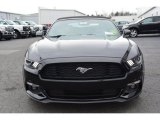 Black Ford Mustang in 2015