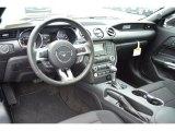 2015 Ford Mustang V6 Convertible Ebony Interior